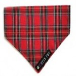 tartan bandana for dogs