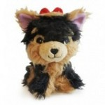 Rosie Yorkie plush dog toy