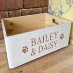 personalised dog crate