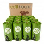 Ecohound SMALL Biodegradable Vest Dog Poo Bags On A Roll